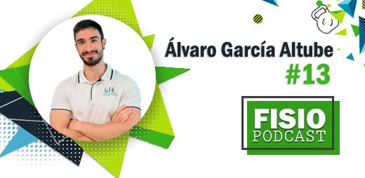 Portada FIsioPodcast #13 Tendinopatías en Fisioterapia, con Álvaro García Altube (1/3)